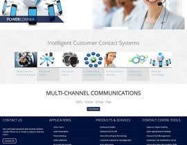 Nro 18 kilpailuun Design a Website Mockup for Software Company käyttäjältä iTechnoVista