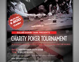 #3 for flyer for charity poker tournament by vaishaknair
