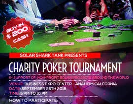 #7 for flyer for charity poker tournament by vaishaknair