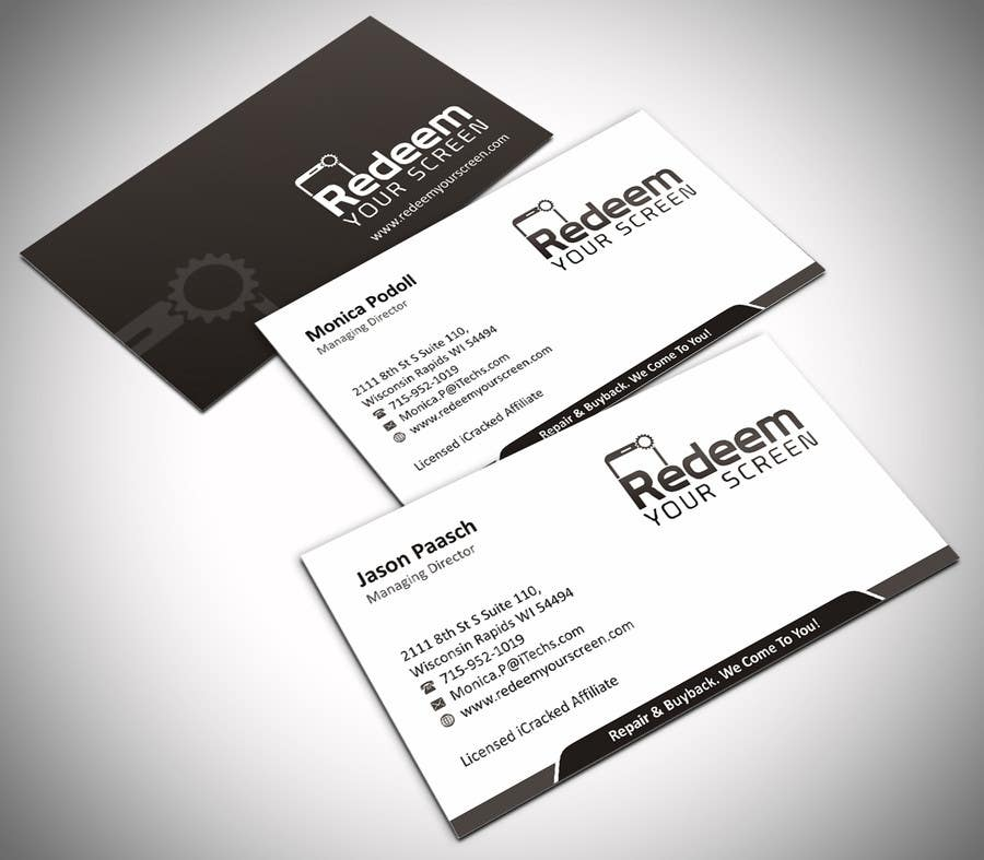 Entry #24 by ezesol for Business Card Design - Cell Phone/Tablet ...