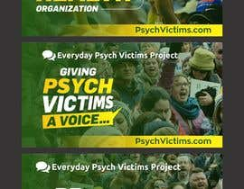 #41 untuk Design Social Media Banners for Everyday Psych Victims Project oleh jamiu4luv