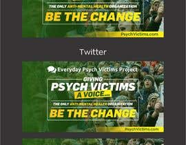 #51 untuk Design Social Media Banners for Everyday Psych Victims Project oleh jamiu4luv