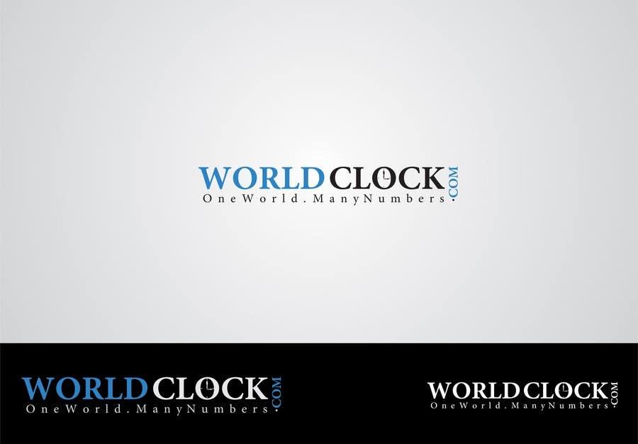 Penyertaan Peraduan #                                        107                                      untuk                                         Logo Design for WorldClock.com