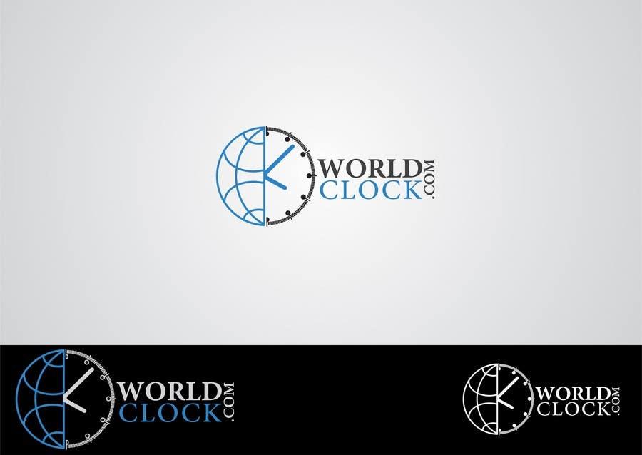 Penyertaan Peraduan #                                        116                                      untuk                                         Logo Design for WorldClock.com