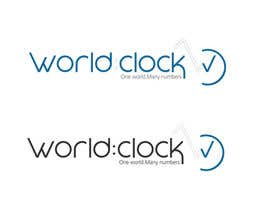 #207 para Logo Design for WorldClock.com por johanacp