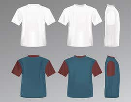 #8 for I need a realistic jersey template for sports shirts by AngelGraphicx