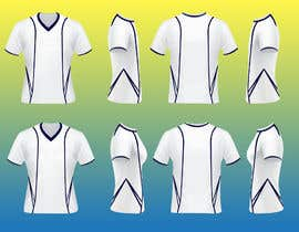 #3 for I need a realistic jersey template for sports shirts by farhanazam