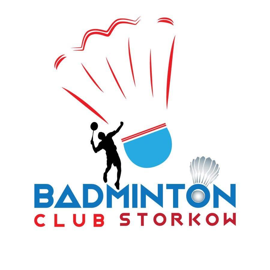 Badminton Club Logo Design - design bild