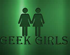 Nro 24 kilpailuun Geek girl logo käyttäjältä mbkpk