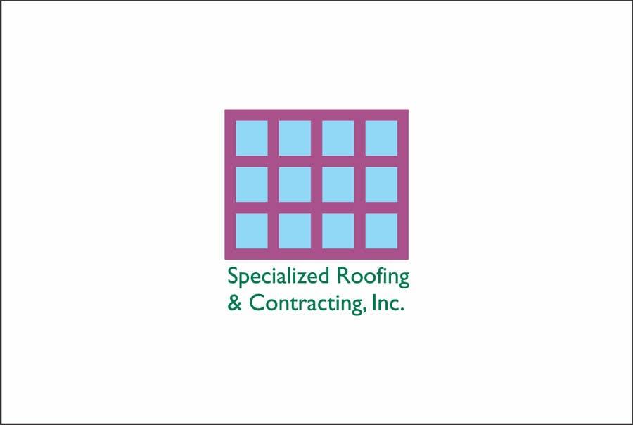 Penyertaan Peraduan #                                        16                                      untuk                                         Logo Design for Specialized Roofing & Contracting, Inc.