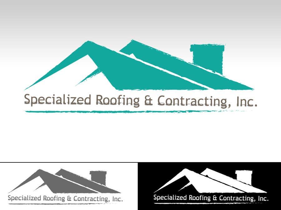 Kilpailutyö #25 kilpailussa Logo Design for Specialized Roofing & Contracting, Inc.
