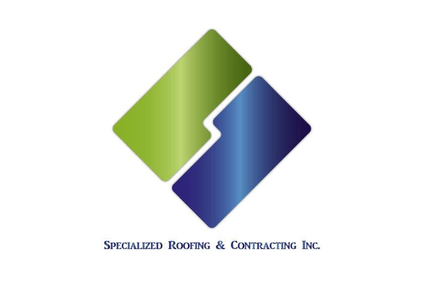 Kilpailutyö #65 kilpailussa Logo Design for Specialized Roofing & Contracting, Inc.