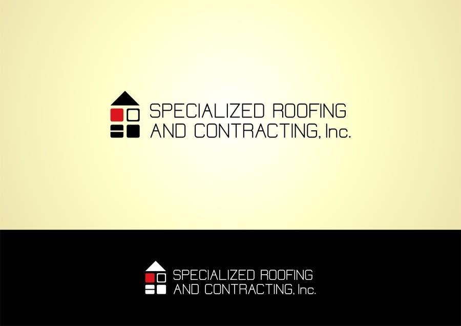 Kilpailutyö #43 kilpailussa Logo Design for Specialized Roofing & Contracting, Inc.