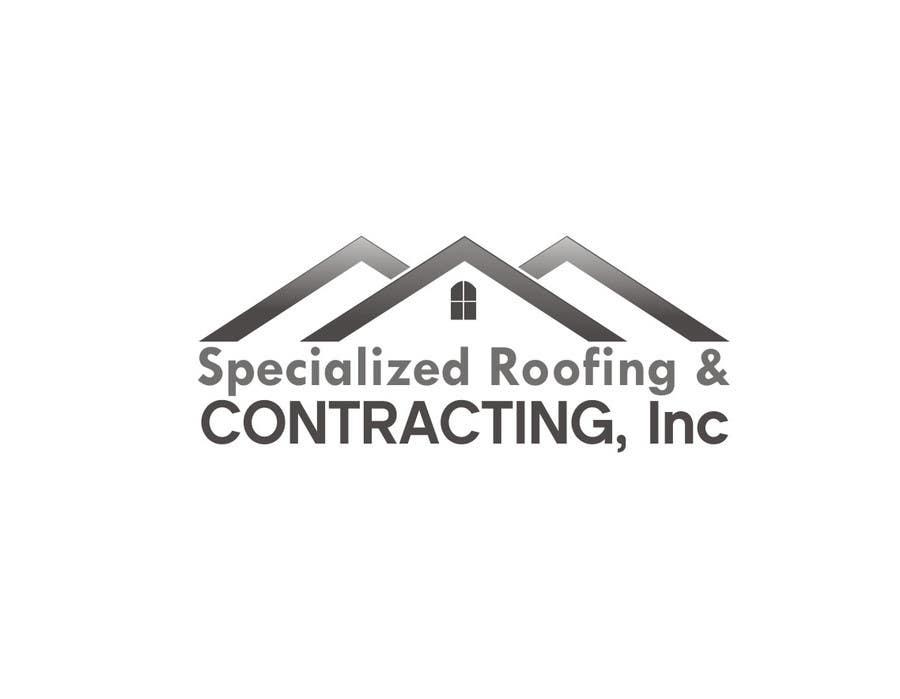 Penyertaan Peraduan #                                        28                                      untuk                                         Logo Design for Specialized Roofing & Contracting, Inc.