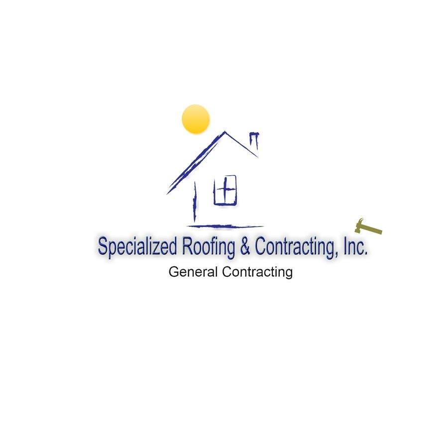 Kilpailutyö #99 kilpailussa Logo Design for Specialized Roofing & Contracting, Inc.