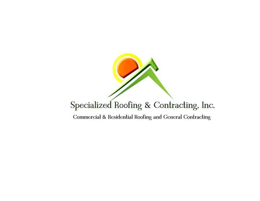 Kilpailutyö #100 kilpailussa Logo Design for Specialized Roofing & Contracting, Inc.