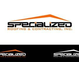 #19 untuk Logo Design for Specialized Roofing & Contracting, Inc. oleh trying2w