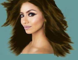 #5 for Drawing hair in Photoshop by parvezbd72