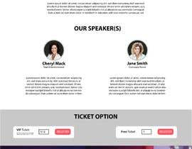 #12 for Design an Event Landing Page by adhyjayadii