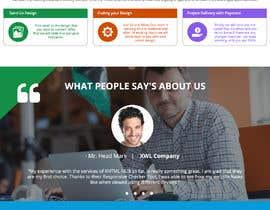 Nro 8 kilpailuun Design a Website Mockup for a Web Hosting Company käyttäjältä Orko30