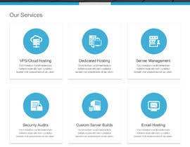 Nro 1 kilpailuun Design a Website Mockup for a Web Hosting Company käyttäjältä apswayinfotech