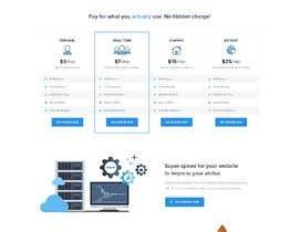 Nro 11 kilpailuun Design a Website Mockup for a Web Hosting Company käyttäjältä Nalindu