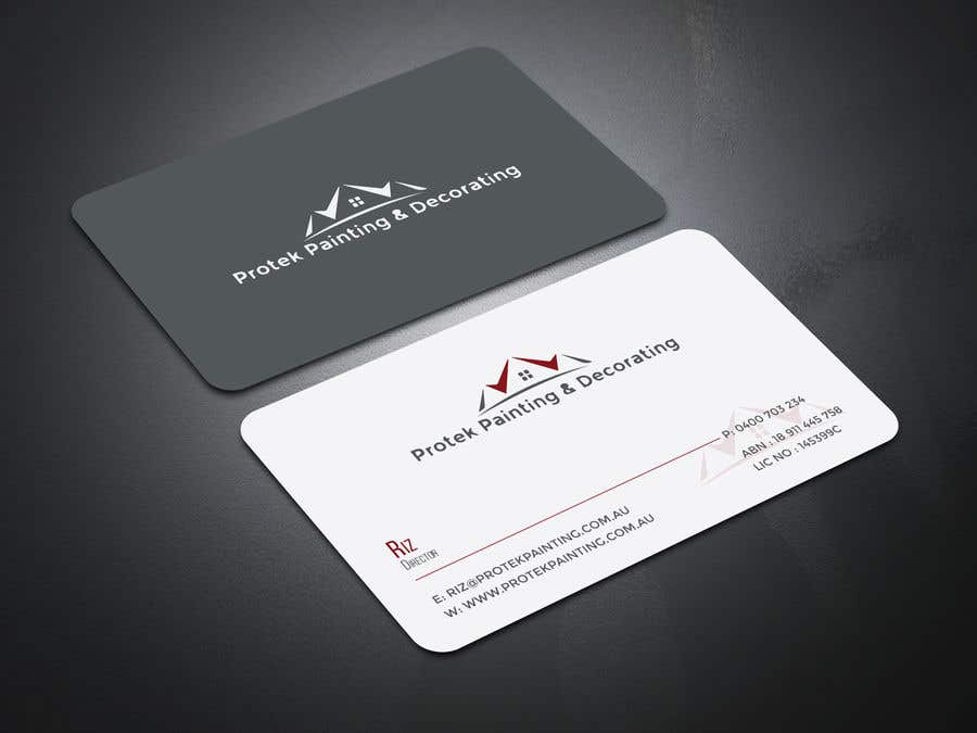 Entry #121 by wefreebird for Create business card using existing ...