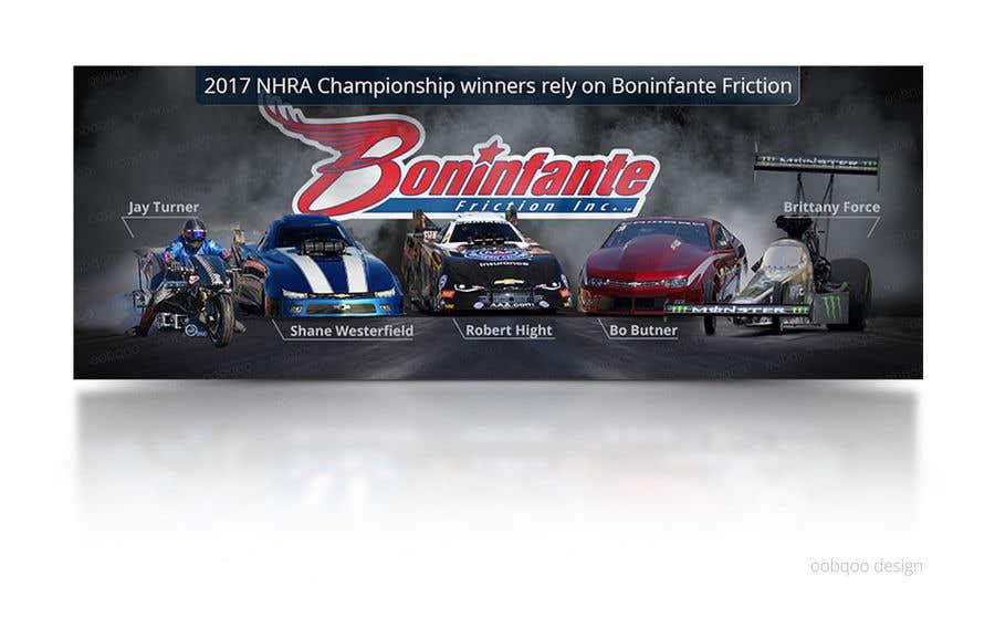 Συμμετοχή Διαγωνισμού #17 για Design a Banner for racing