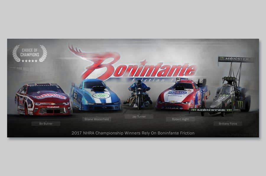Συμμετοχή Διαγωνισμού #18 για Design a Banner for racing