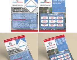 #18 untuk Need a flyer to advertise a company oleh giuliachicco92