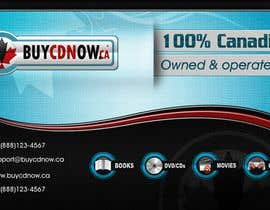 #80 para Business Card Design for BUYCDNOW.CA por paalmee