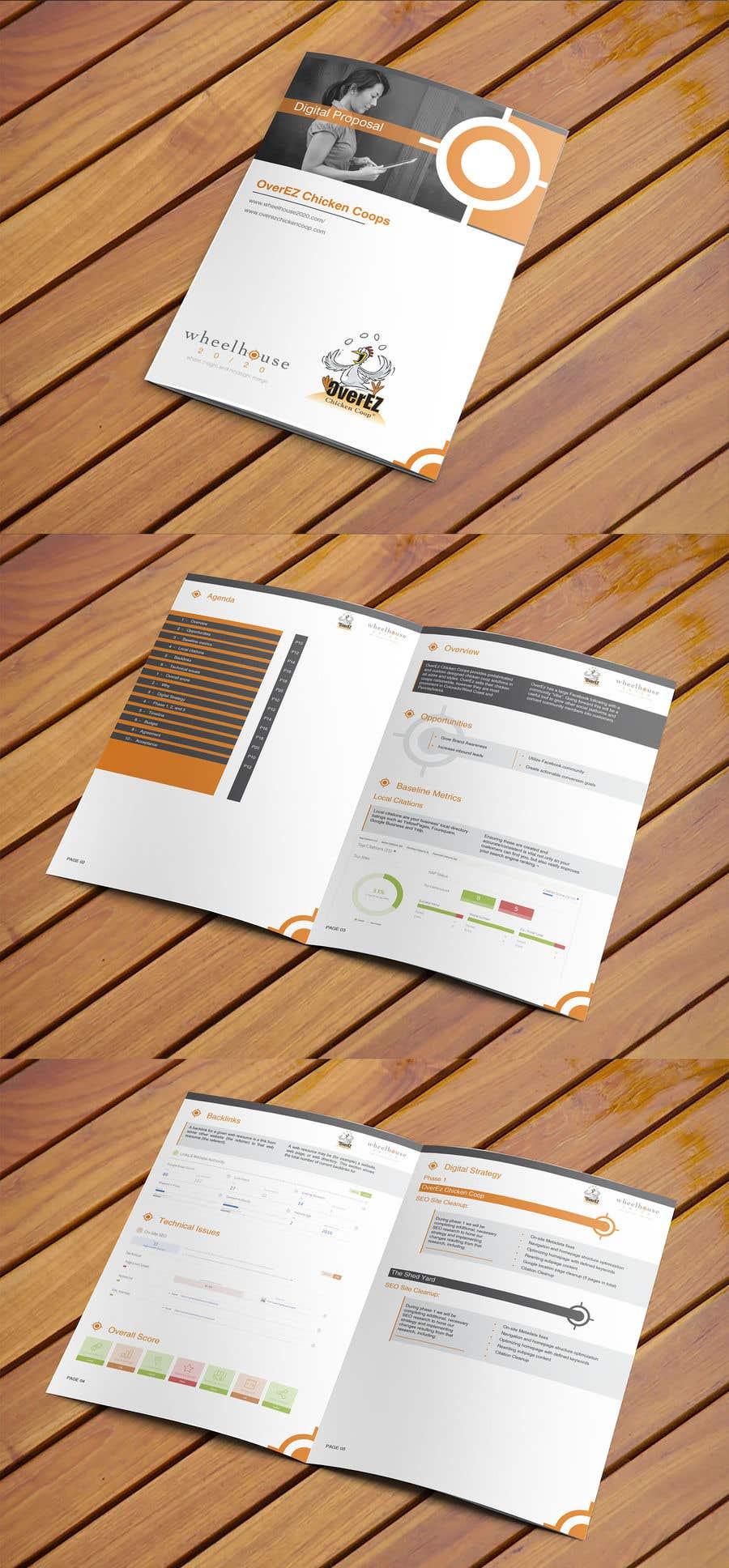 Entry 3 By Elegantconcept77 For Design Proposal Template Pdf For