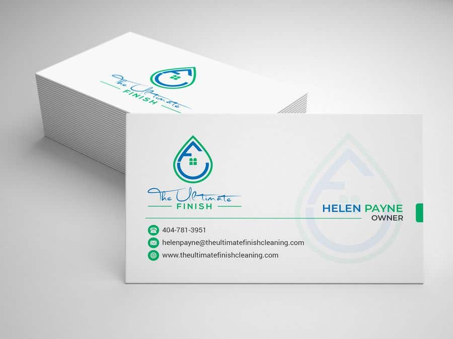 Entry 20 By Wefreebird For Design Some Business Cards Cleaning
