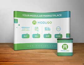 #3 for Design Trade Show Booth Backdrop - ModuGo by ruzenmhj