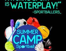 Nro 29 kilpailuun Kids Sports Summer Camp T-Shirt Design käyttäjältä Mostakim1011