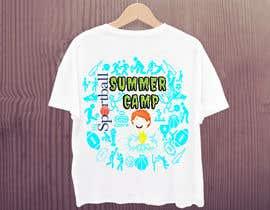 #49 untuk Kids Sports Summer Camp T-Shirt Design oleh Lucky571Akash