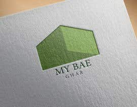 misalpingua03 tarafından I need a logo for my interior venture 'myBAE Ghar' which works for interior design and decor with home improvement DIY ideas için no 8