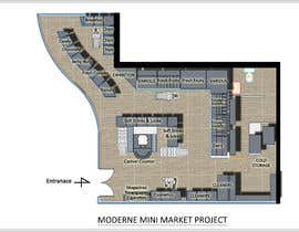 #10 για To Make interior furniture layout for mini market από HadjerCher