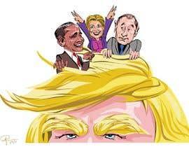 #3 untuk sketch drawing or Illustration of Donald Trump, Mitt Romney, Kim Jong Un, Hillary Clinton, Bill Clinton and Barack Obama oleh caloylvr