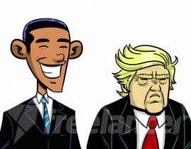 #6 untuk sketch drawing or Illustration of Donald Trump, Mitt Romney, Kim Jong Un, Hillary Clinton, Bill Clinton and Barack Obama oleh mayank94214