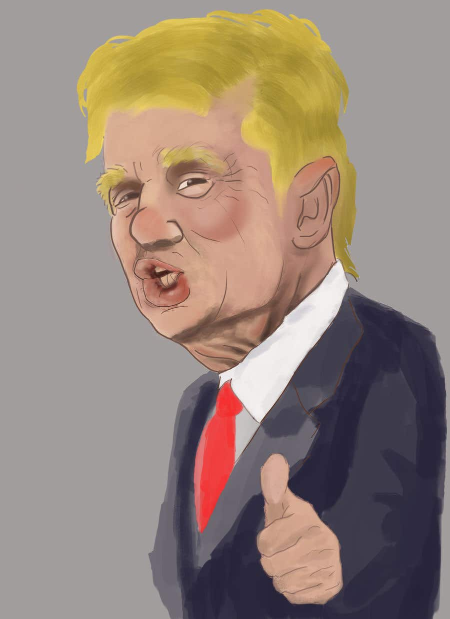 Drawing Art Donald Trump