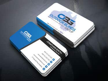 Image of                             business card design- Outdoor bl...