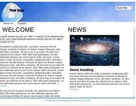#11 for Website designer PSD for web portal af dholrofiq