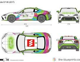 Nro 9 kilpailuun Racing car graphic design käyttäjältä nkcaleb