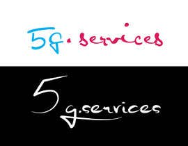 #15 for Logo for URL   5g.services by AlexHale007