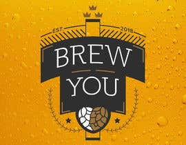 "#98 for I need a logo for my brewing company ""Brew You"". Im thinking something retro, stram punk and/or straigh up punk (combine to hearts content). Bonus points if you include hops! by danielrugu"