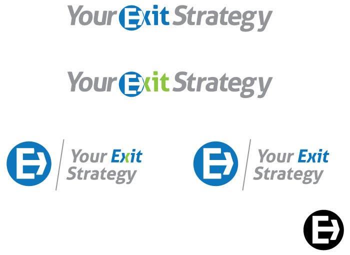 Proposition n°                                        8                                      du concours                                         Logo Design for Your Exit Strategy