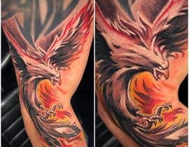 #12 for Phoenix Color Tattoo Designed by katrinspasova