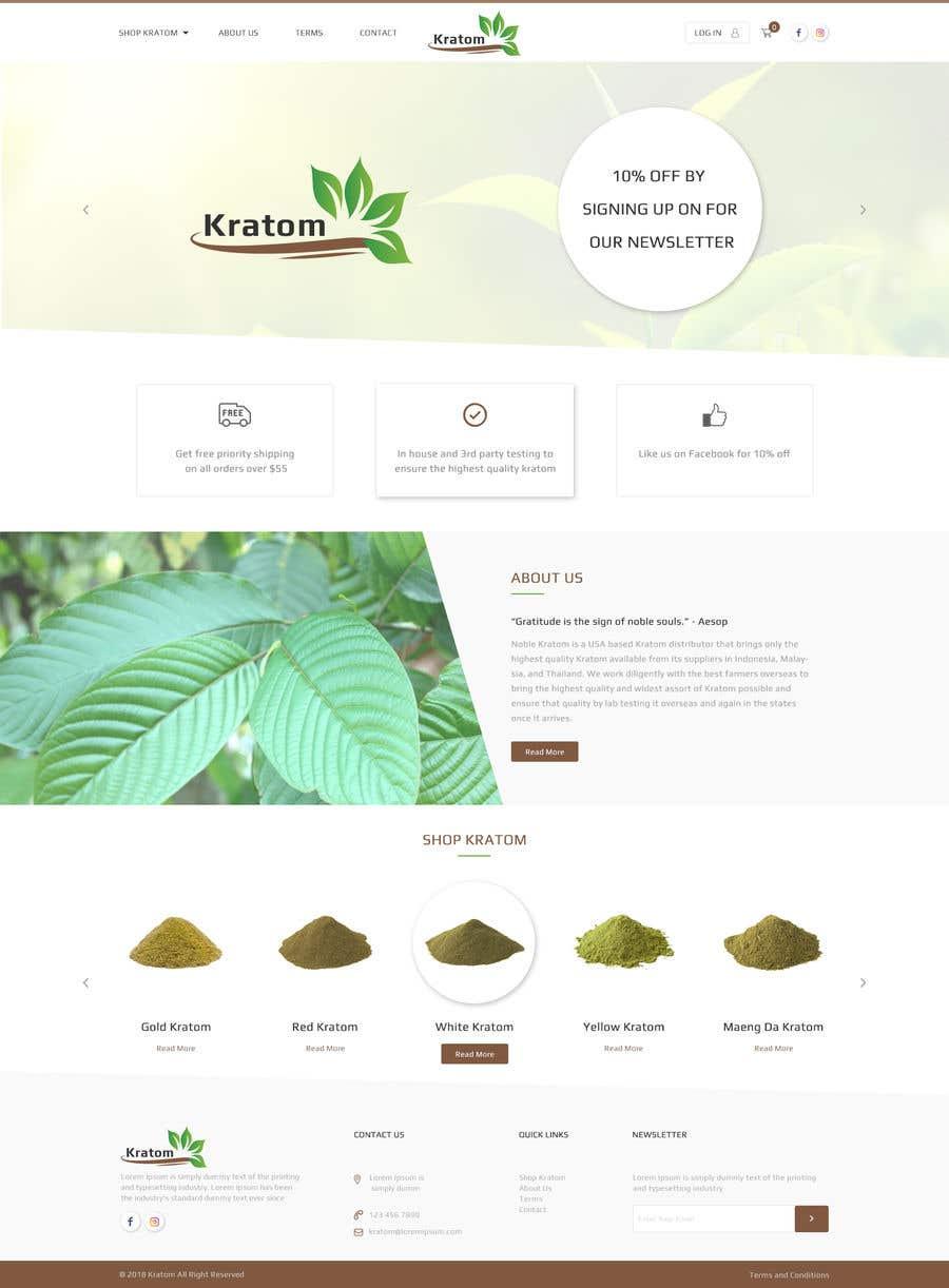 Penyertaan Peraduan #3 untuk Design a Woo-Commerce Website (Just design)