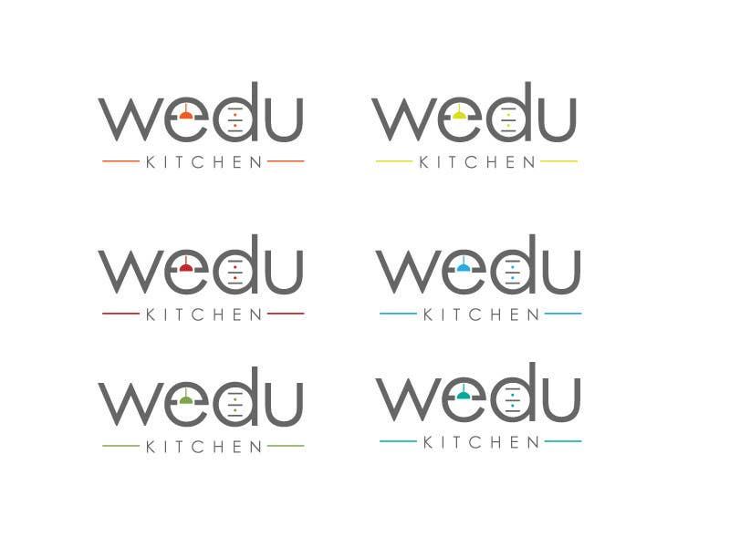 #153 for Logo Design for Wedu Kitchens by designer12